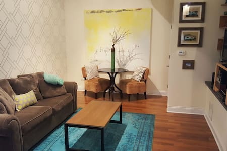 Turquoise Wonder - Clean, Cozy & Stylish Apartment - Chicago - Apartment