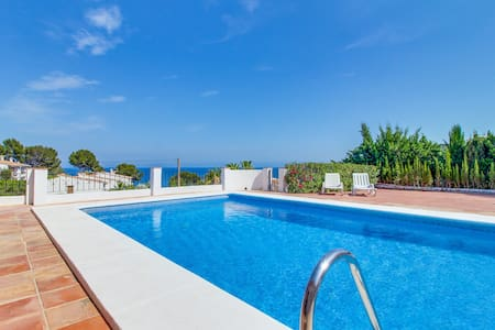 Villa Cala Pinets- SEA VIEW! Pool & WIFI - Benissa