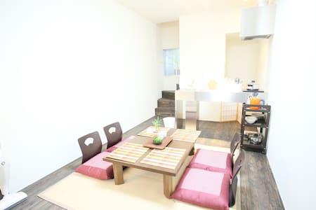 S60) 4min☆Doutonbori☆Japanese style room - Huis
