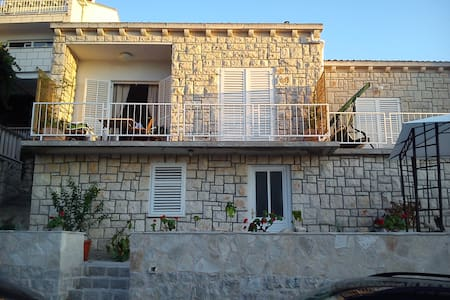 Apartment with sea view terrace ( Levanat ) - Pomena - House