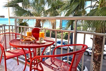 Pointe Croisette 55m2 WIFI&TV - Cannes - Appartement