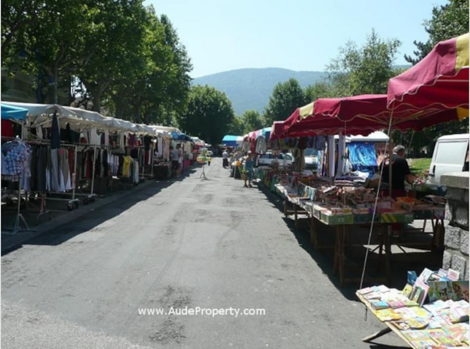 Quillan Market Twice a Week. Wednesday & Saturday