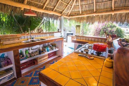Jungle view loft/ Casita Solanita - Sayulita - Hus