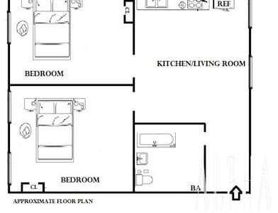 Manhattan Riverside 2 Bedroom Perfect For Groups - New York
