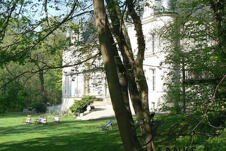 große FeWo im Schloss Lanke - Apartamento