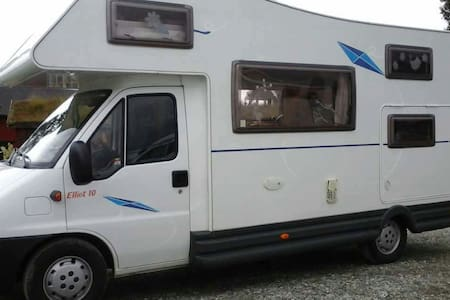 Stationary camper van,beds availab. - Stranda - Trailer