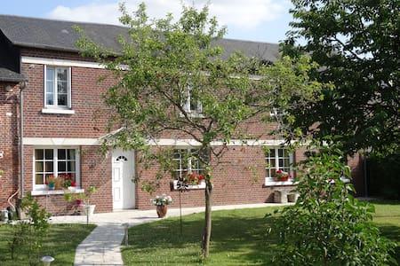 Chambre indépendante dans maison Normande - Le Thuit-Signol - Penzion (B&B)