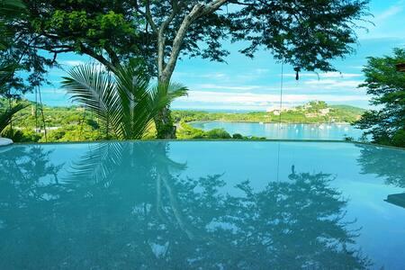 OCEAN VIEW FRONT INFINITY POOL B&B - Playa Flamingo