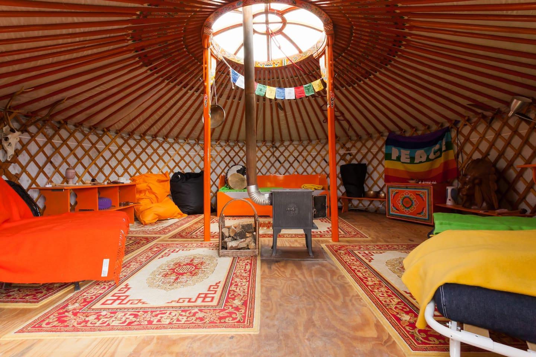 De top 20 yurten om te huren in laag soeren   airbnb: yurt veluwe ...
