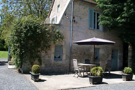 Petit Manoir à 30m du Manoir 18ème - Cauvicourt - Casa