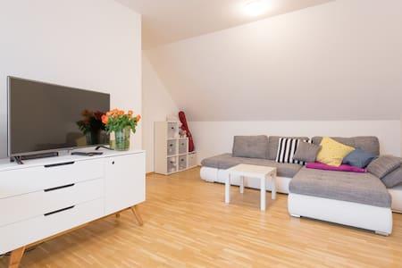 Sunny, modern, big attic flat - Wien - Wohnung