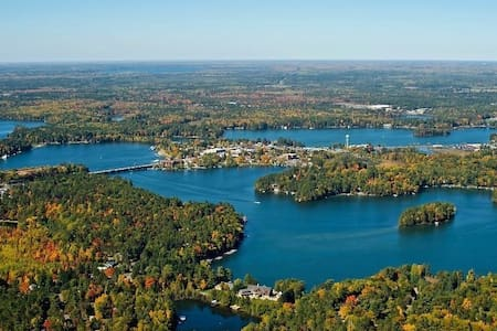 Lake Minocqua Suite 2 BR W/Dock +++ - Talo