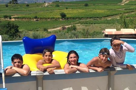 Maison au cœur des vignes belle vue - Dom