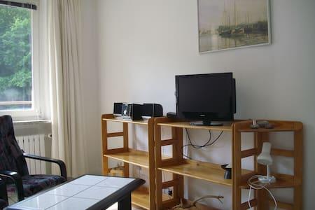 Gemütliche 1-Raum-FeWo in direkter Strandnähe - Apartament
