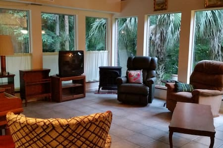 Private Apartment in Micanopy, minutes from UF - Micanopy - Apartamento
