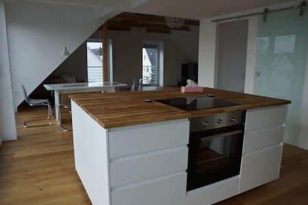 Lichtdurchflutetes Loft im Allgäu - Rieden - Wohnung