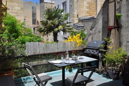 Appartement with terrace very close to city center - Bordeaux - Apartment