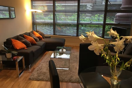 Grand Canal Dock, Double Room + Private Bathroom - Wohnung