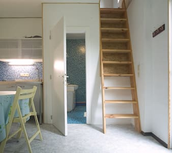 1-person studio in wooden house, monthly rent - Genappe - Apartment