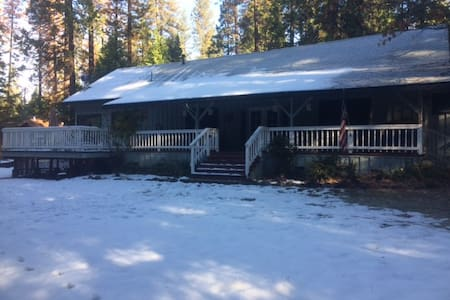 Book Christmas & New Years @ The  Kewin Mill Lodge - Sonora - Hus