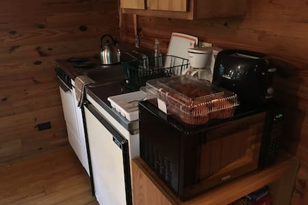 Cozy cabin inthe woods 1 hr N of NO - Bed & Breakfast