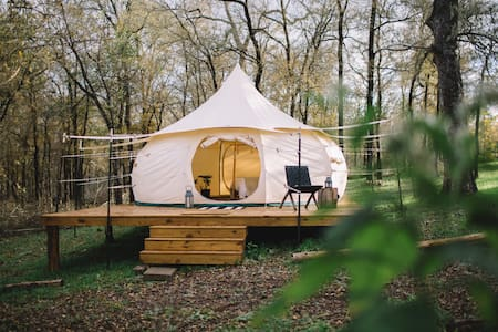 YURT GLAMPING #2 @ Green Acres Boutique Retreat - Jurta