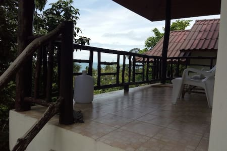 House on the Hill with Seaview and Cosy Restaurant - Ko Pha-ngan - Guesthouse