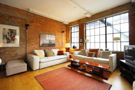 New York style loft in Marylebone