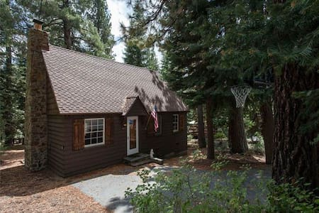 **PETS PROHIBITED** The quintessential Tahoe Cabin, Pine Hollow was originally built in 1938 and is a welcome addition to Hauserman Rental Group in late summer 2012.