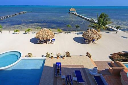 Gorgeous Beachfront 3-bedroom Condo - Ground Floor - Társasház