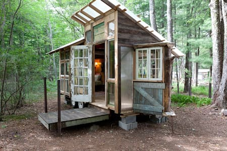 Tiny Home on Farm Upstate Catskills - Woodridge - Lakókocsi/lakóautó