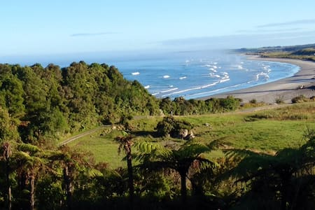 Beautiful views of the Tasman sea