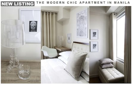 The Modern Chic Apartment In Manila - Manille - Appartement