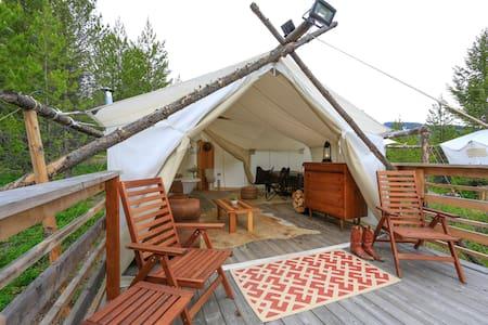 Under Canvas Glacier - Suite Tent - Coram - Çadır