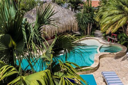 Papagai in popular Ocean View Villas mini resort - Kralendijk - Apartment