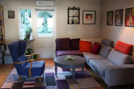 Koselig leilighet med 2 balkonger. - Trondheim - Byt