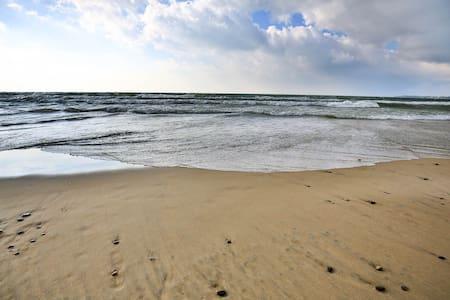 105' of Private Premium Sand Beach