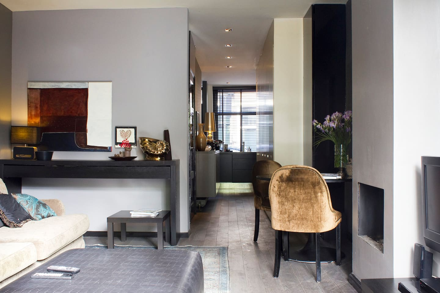 luxe apartment in amsterdam city