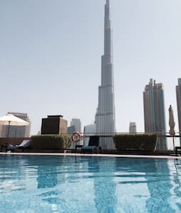 BUSINESS TRAVEL- BURJ KHALIFA VIEW!