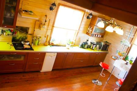 Комфортабельный дом с баней на дровах - Флора-2 Снт - Huis