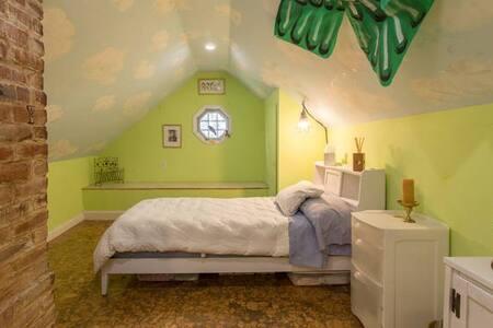 Charming Attic Room in Richmond - Casa