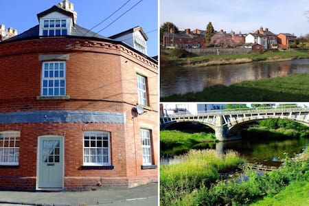 The Round House by the River Severn - Newtown - Casa