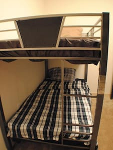 Bunk beds in microhostel