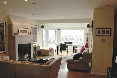 NOE VALLEY VIEW, FIREPLACE, HOT TUB