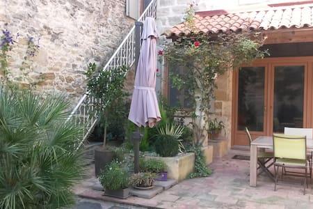 Maison en pierre et bois - Gallargues-le-Montueux