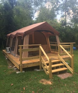 Glamping Tent (Hot Tub & More) - Tent
