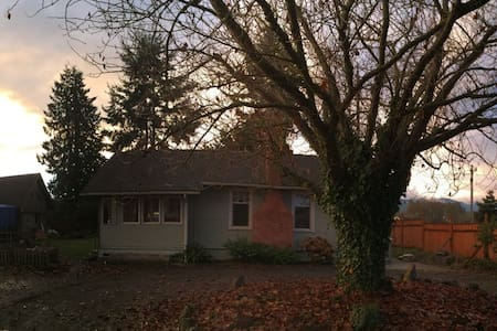 Country Cottage Outside Sequim - Casa