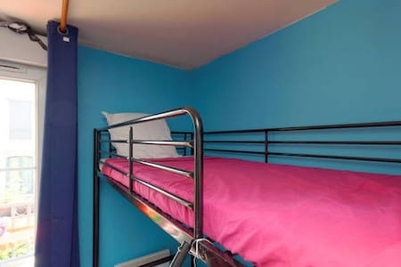 Bunk bed with balcony
