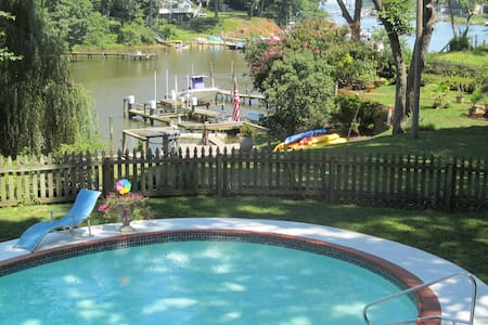 Annapolis Area Private Waterfront - Ev