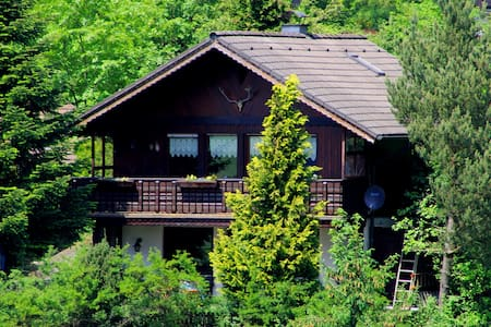 An idyllic retreat by the forest. Ideal for Xmas!! - Maison